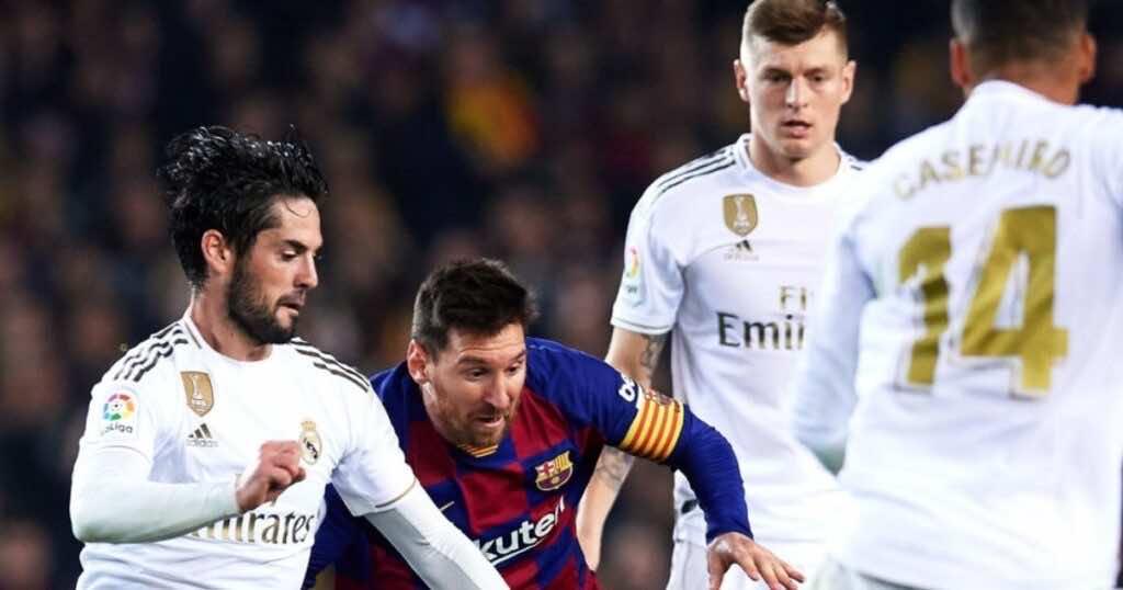 توني كروس وميسي وإيسكو - جدول ترتيب الدوري الإسباني قبل كلاسيكو ريال مدريد وبرشلونة