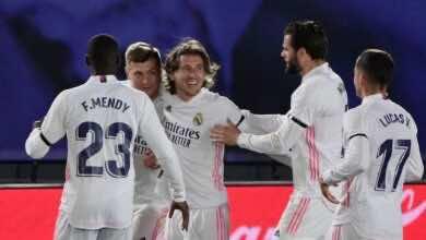 فيديو   شاهد اهداف مباراة ريال مدريد وبرشلونة «بنزيمة وكروس أبطال الكلاسيكو»