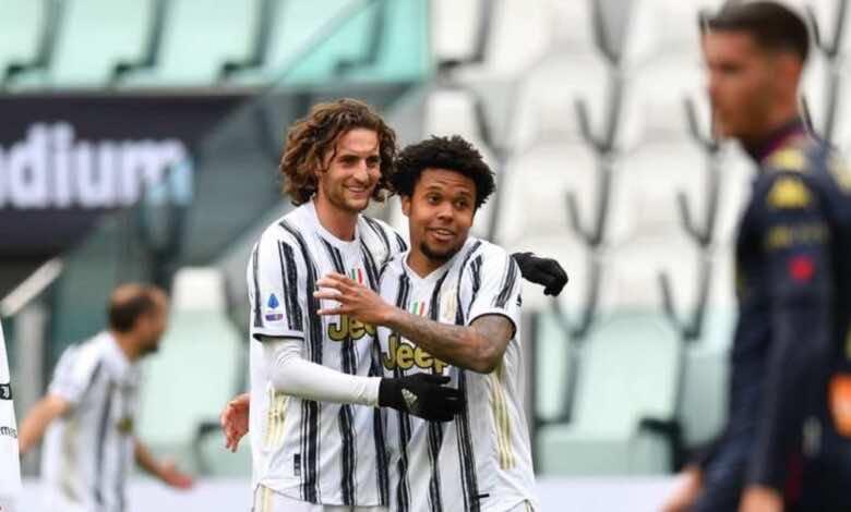 فيديو   شاهد اهداف مباراة يوفنتوس وجنوى في الدوري الايطالي «مكيني يُفسد عودة رفاق بانديف»