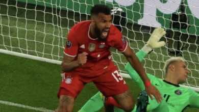 تشوبو موتينج - مباراة بايرن ميونخ وباريس سان جيرمان في دوري ابطال اوروبا - صور Getty