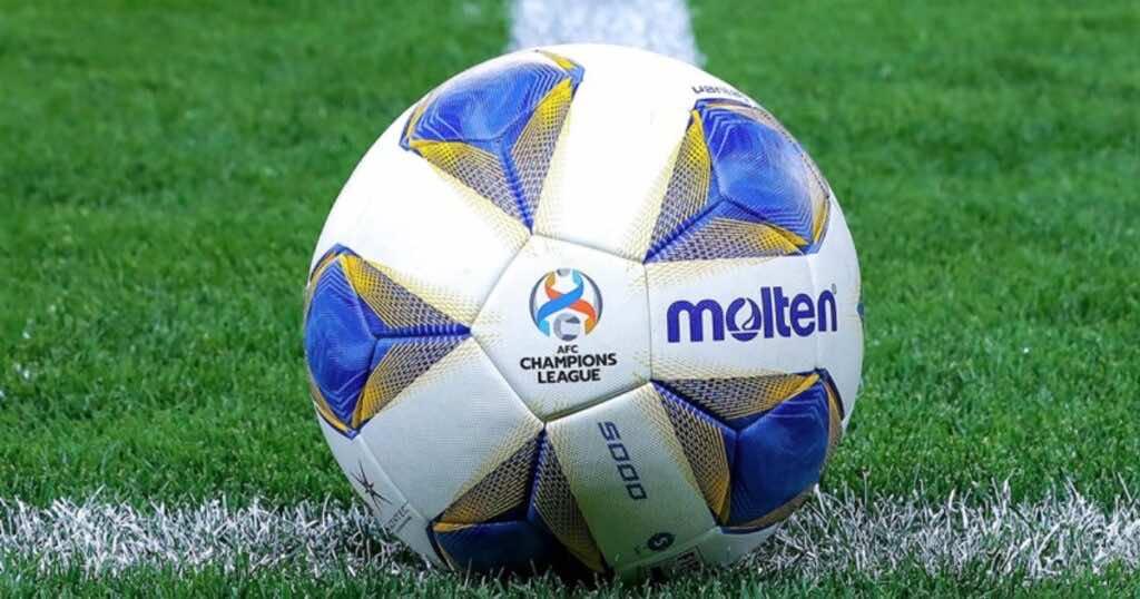 جدول ترتيب مجموعات دوري ابطال اسيا - كرة البطولة - صور تويتر
