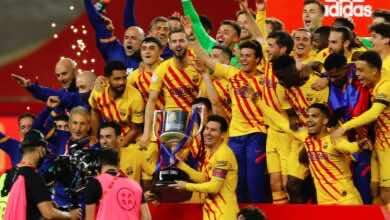 كم عدد مرات تتويج برشلونة بكأس ملك اسبانيا؟