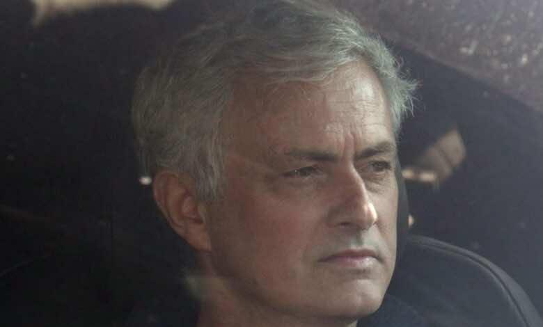المدرب البرتغالي جوزيه مورينيو - صور Getty