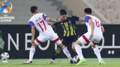 نتيجة مباراة الشارقة وباختاكور في دوري أبطال آسيا «خلفان يحقق التعادل القاتل»