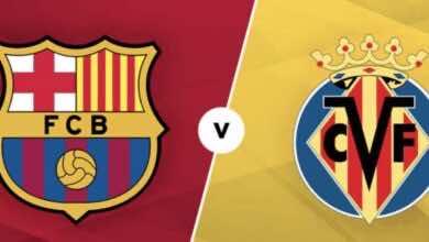 موعد مباراة برشلونة وفياريال في الدوري الاسباني والقنوات الناقلة