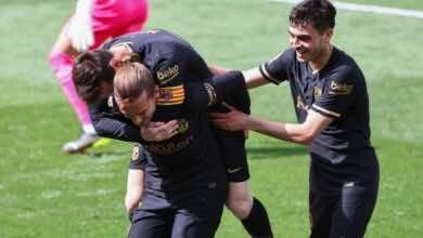 نتيجة مباراة برشلونة وفياريال في الدوري الاسباني اليوم