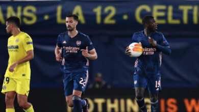 الدوري الاوروبي | شاهد فيديو اهداف مباراة ارسنال وفياريال «بيبي يُبقي على الآمل»