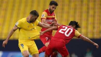 نتيجة مباراة النصر وفولاذ خوزستان في دوري أبطال آسيا