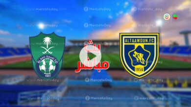 بث مباشر : مشاهدة مباراة الاهلي والتعاون في الدوري السعودي رابط يلا شوت