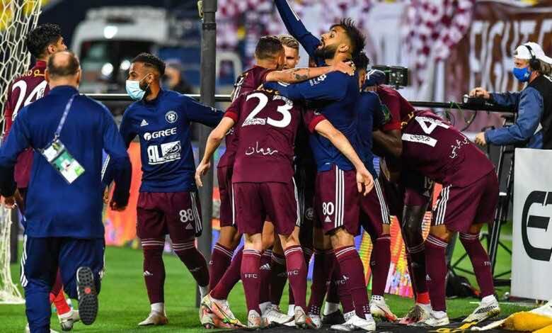مشاهدة هدف فوز الفيصلي على النصر في كأس خادم الحرمين الشريفين - فيديو
