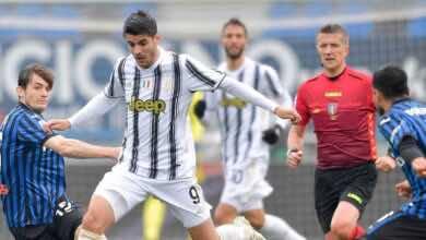 نتيجة مباراة يوفنتوس واتلانتا في الدوري الايطالي «غياب رونالدو يورط بيرلو»