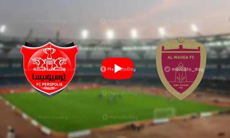 بث مباشر | مشاهدة مباراة الوحدة وبرسيبوليس في دوري ابطال اسيا «كورة لايف»