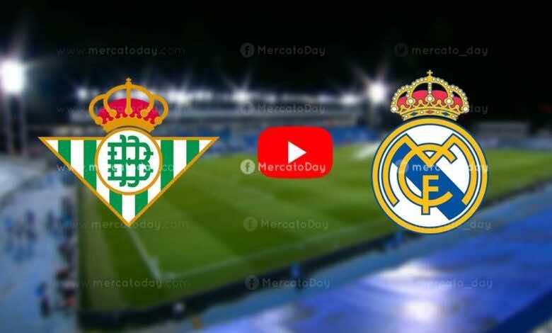 بث مباشر   شاهد ريال مدريد وريال بيتيس في الدوري الإسباني «يلا شوت»