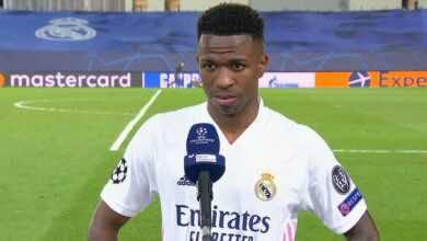 فينيسيوس جونيور يتذكر أسوأ لحظاته بقميص ريال مدريد بعد ثنائية ليفربول!