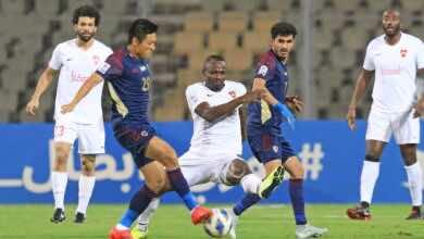 نتيجة مباراة الريان والوحدة في دوري أبطال آسيا «قمة البطاقات تبتسم للعنابي»