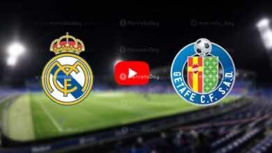 بث مباشر   شاهد مباراة ريال مدريد وخيتافي في الدوري الاسباني «رابط يلا شوت»