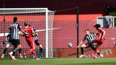 فيديو   شاهد اهداف مباراة ليفربول ونيوكاسل يونايتد في الدوري الانجليزي