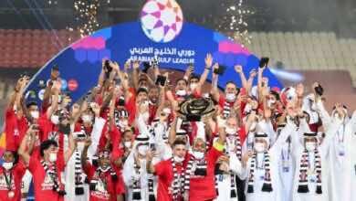 نتيجة مباراة الجزيرة وخورفكان في الدوري الاماراتي (صور:twitter)