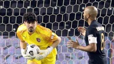 نتيجة مباراة الدحيل والريان فى كأس أمير قطر (صور:twitter)