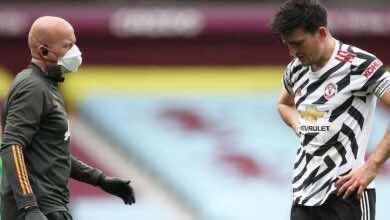 ماجواير خارج قمة مانشستر يونايتد وليفربول و3 مباريات أخري!