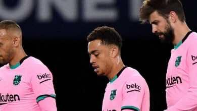 ترتيب الدوري الاسباني بعد سقوط برشلونة في فخ ضفادع ليفانتي