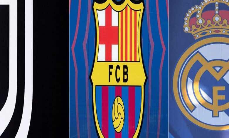 دوري السوبر الأوروبي   اليويفا يتخذ أول إجراء ضد ريال مدريد وبرشلونة ويوفنتوس