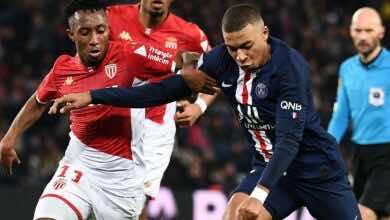موعد مباراة باريس سان جيرمان وموناكو في نهائي كأس فرنسا والقنوات الناقلة