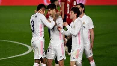 نتيجة مباراة ريال مدريد واوساسونا فى الدوري الاسباني «زيدان يفك الشفرة بالدكة» (صور:AFP)
