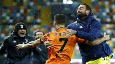 نتيجة مباراة يوفنتوس واودونيزي في الدوري الايطالي «رونالدو يعذب اودونيزي» (صور:AFP)