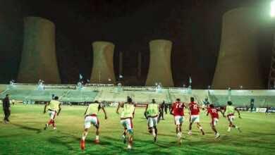 نتيجة مباراة الاهلي وغزل المحلة في الدوري المصري (صور:twitter)