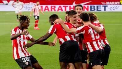 نتيجة مباراة اشبيلية وأثلتيك بلباو فى الدوري الاسباني (صور:twitter)