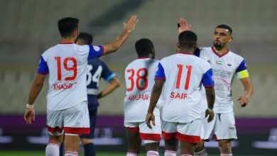 فيديو | مشاهدة اهداف مباراة الشارقة وحتا فى الدوري الاماراتي (صور:twitter)