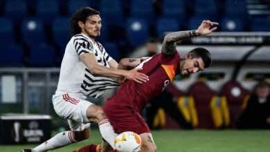 الدوري الاوروبي | نتيجة مباراة روما ومانشستر يونايتد (صور:AFP)