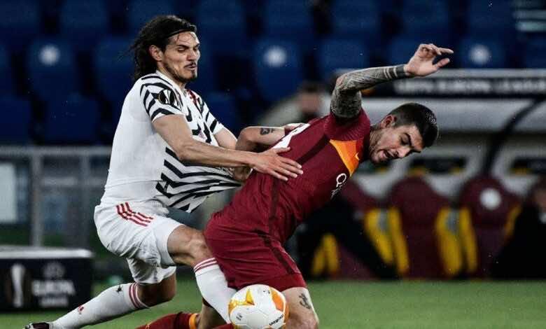 الدوري الاوروبي   نتيجة مباراة روما ومانشستر يونايتد (صور:AFP)