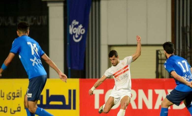 الدوري المصري | مشاهدة فيديو اهداف مباراة الزمالك وسموحة (صور:twitter)