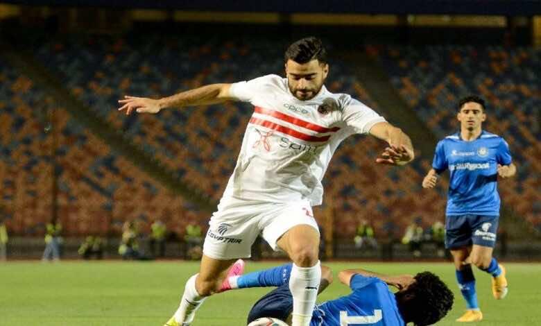 الدوري المصري   نتيجة مباراة الزمالك وسموحة (صور:twitter)