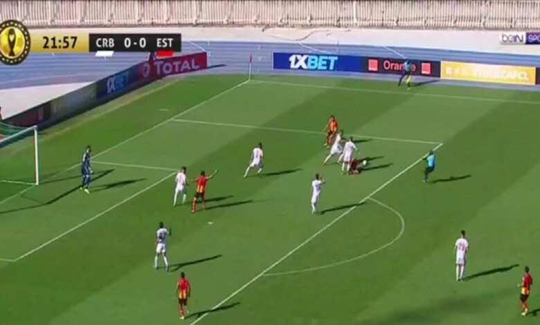 دوري ابطال افريقيا   مشاهدة فيديو اهداف مباراة شباب بلوزداد والترجي (صور:twitter)