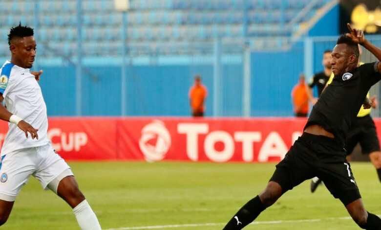 كأس الكونفدرالية الافريقية | مشاهدة فيديو اهداف مباراة بيراميدز وانيمبا (صور:twitter)