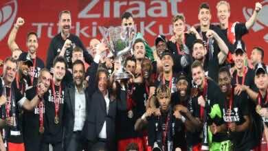 كأس تركيا | بشكتاش يهزم أنطاليا ويُتوج بالكأس للمرة العاشرة (صور:twitter)