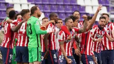 الدوري الاسباني | اتلتيكو مدريد يفسد خطة بلد الوليد ويُتوج بلقب البطولة (صور:AFP)