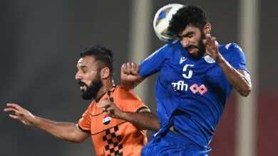 كأس الاتحاد الاسيوي | الحد البحريني يُفسد عودة الوحدة إلى أجواء البطولة (صور:twitter)