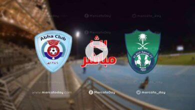 مشاهدة مباراة الاهلي وابها فى بث مباشر بـ الدوري السعودي «الجولة 29»