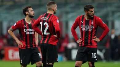 الدوري الايطالي | نتيجة مباراة ميلان وكالياري «حلم الروسونيري في خطر»