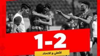 الدوري المصري | نتيجة مباراة الاهلي والاتحاد السكندري «حلول من خارج الهجوم تُعيد الحياة لموسيماني»