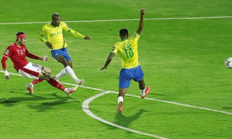 دوري ابطال افريقيا | نتيجة مباراة الاهلي وصن داونز «الأصفر يلعب، والأحمر ينتصر»