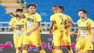 نتيجة مباراة الاهلي والتعاون في الدوري السعودي «الأصفر يُكبد الراقي الهزيمة السابعة على التوالي»