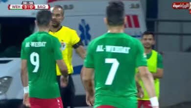 الدوري الاردني | شاهد فيديو اهداف الوحدات والبقعة «عودة الأخضر لسكة الانتصارات»