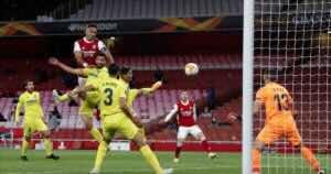 الدوري الاوروبي | نتيجة مباراة ارسنال وفياريال في إياب نصف النهائي