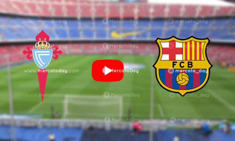 بث مباشر   شاهد برشلونة وسيلتا فيجو في الدوري الإسباني «يلا شوت»