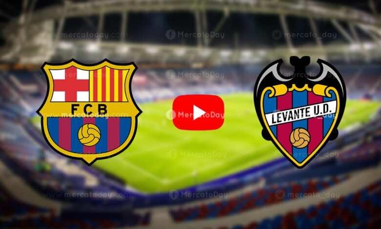 بث مباشر | شاهد برشلونة وليفانتي في الدوري الاسباني «يلا شوت»